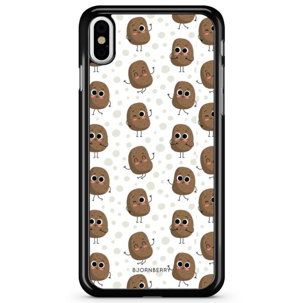 Bjornberry Skal iPhone X / XS - Söta Potatisar