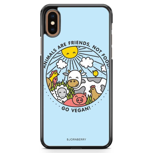 Bjornberry Skal iPhone XS Max - Friends, Not Food