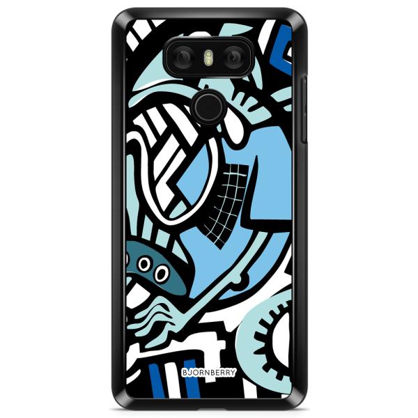 Bjornberry Skal LG G6 - Grafitti Ödla