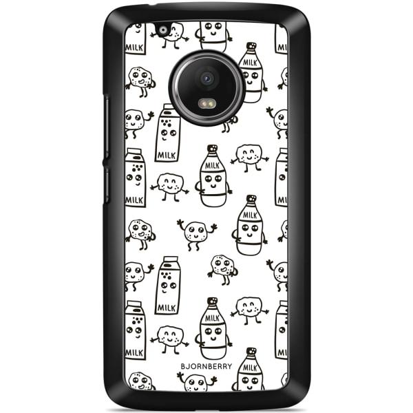 Bjornberry Skal Motorola/Lenovo Moto G5 - Mjölk & Kakor