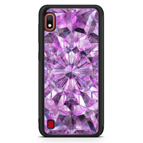 Bjornberry Skal Samsung Galaxy A10 - Lila Kristaller