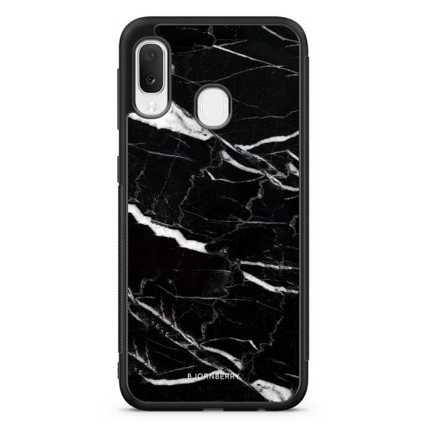 Bjornberry Skal Samsung Galaxy A20e - Svart Marmor