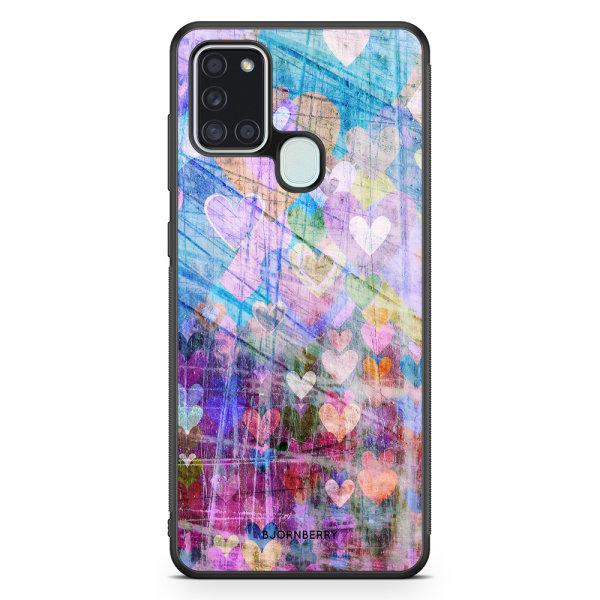 Bjornberry Skal Samsung Galaxy A21s - Hjärtan