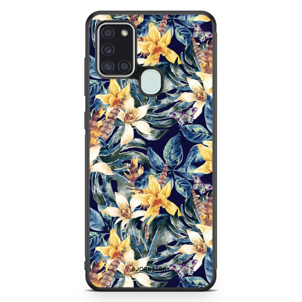 Bjornberry Skal Samsung Galaxy A21s - Liljor
