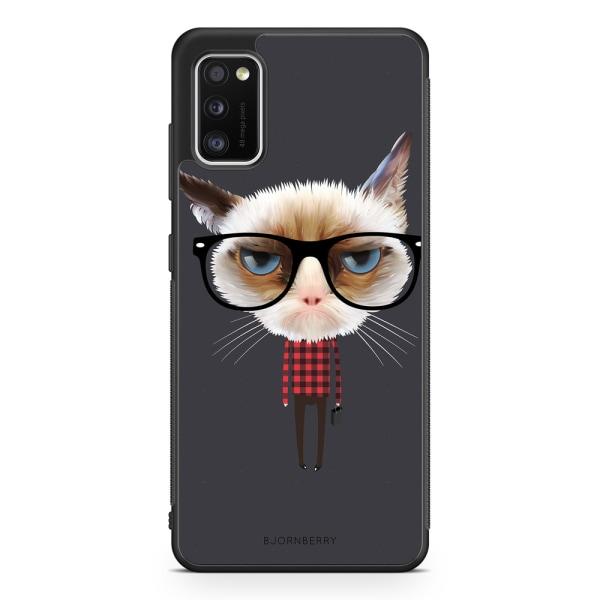 Bjornberry Skal Samsung Galaxy A41 - Hipster Katt