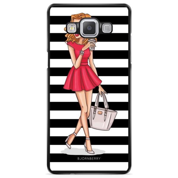 Bjornberry Skal Samsung Galaxy A5 (2015) - Modeskiss Dam Röd