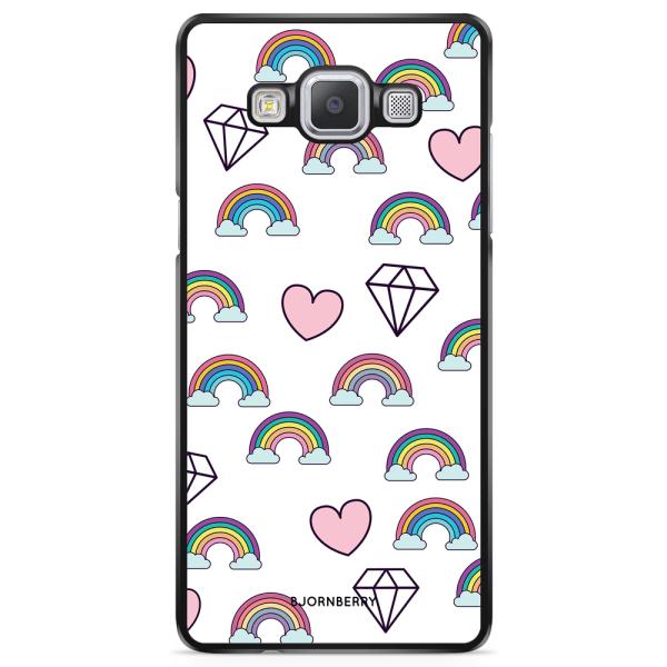 Bjornberry Skal Samsung Galaxy A5 (2015) - Regnbågar Diamanter