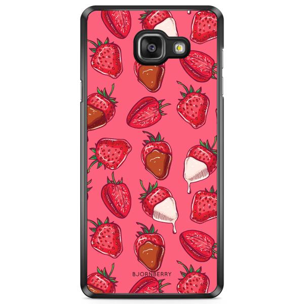Bjornberry Skal Samsung Galaxy A5 7 (2017)- Jordgubbschoklad