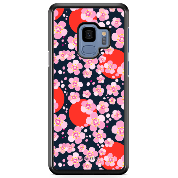 Bjornberry Skal Samsung Galaxy A8 (2018) - Japan Blommor