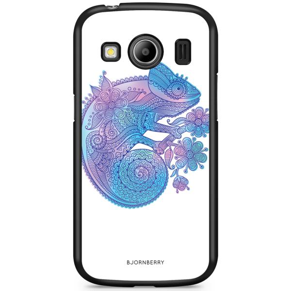 Bjornberry Skal Samsung Galaxy Ace 4 - Mandala kameleont