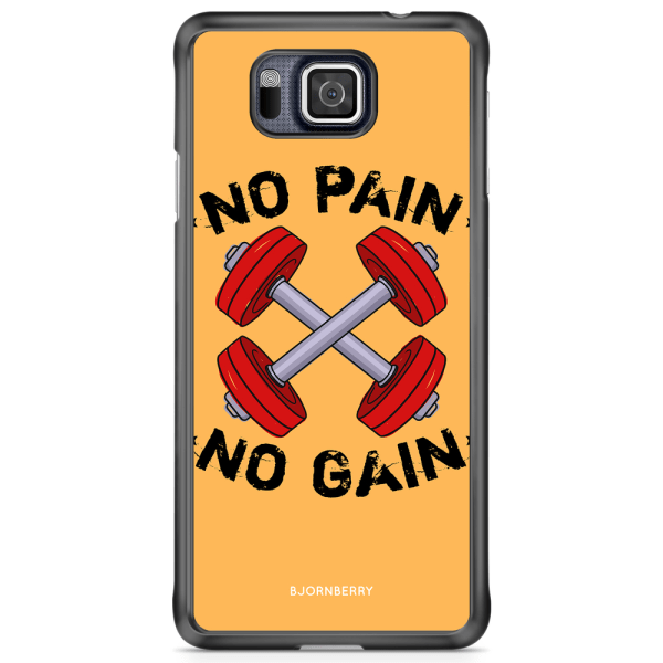 Bjornberry Skal Samsung Galaxy Alpha - No Pain No Gain