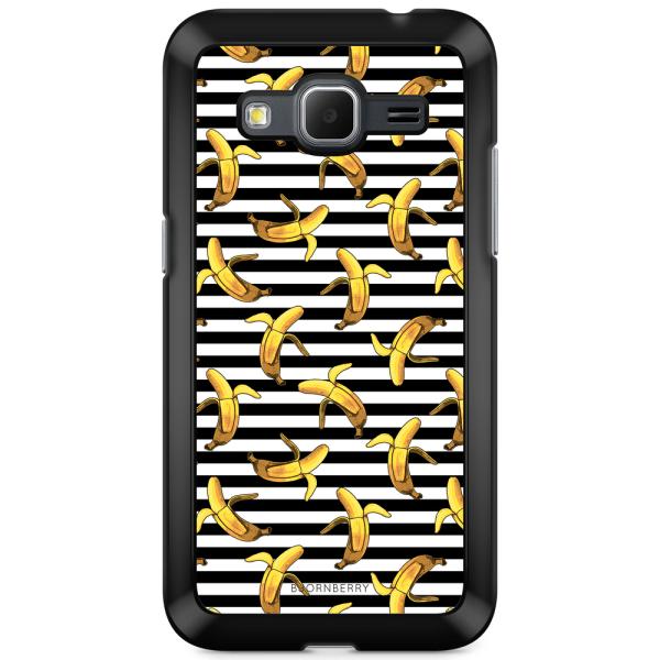 Bjornberry Skal Samsung Galaxy Core Prime - Banan mönster