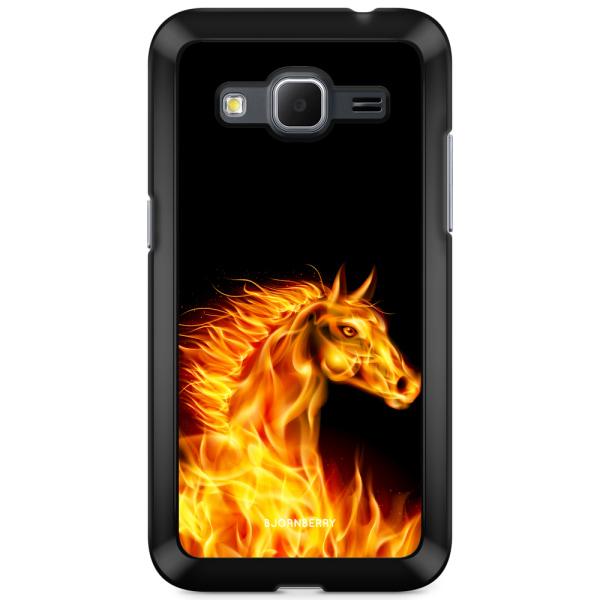 Bjornberry Skal Samsung Galaxy Core Prime - Flames Horse