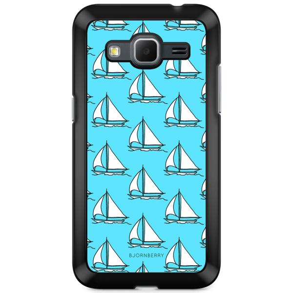 Bjornberry Skal Samsung Galaxy Core Prime - Segelbåts Mönster