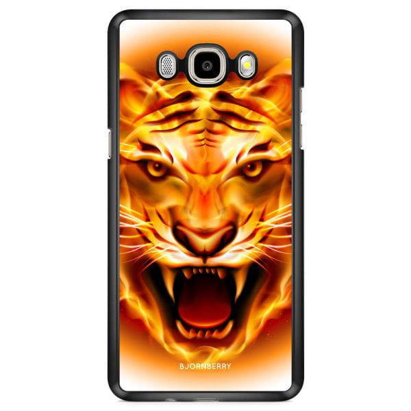 Bjornberry Skal Samsung Galaxy J7 (2016) - Flames Tiger