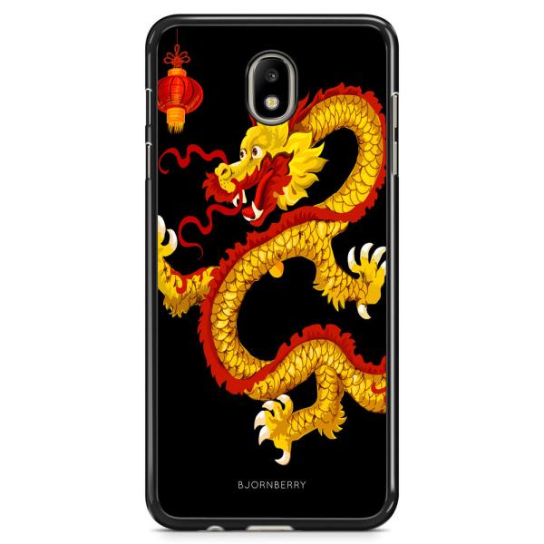 Bjornberry Skal Samsung Galaxy J7 (2017) - Gul Drake