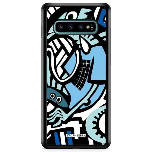 Bjornberry Skal Samsung Galaxy S10 - Grafitti Ödla