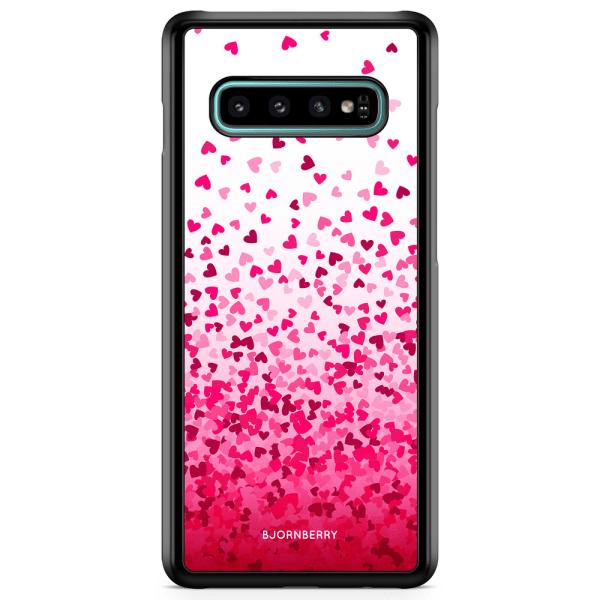 Bjornberry Skal Samsung Galaxy S10 - Hjärtkonfetti