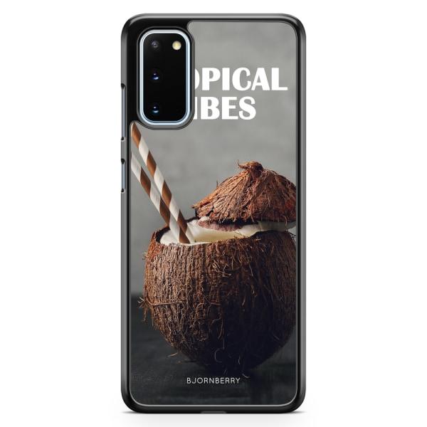 Bjornberry Skal Samsung Galaxy S20 - Kokosnöt Tropical
