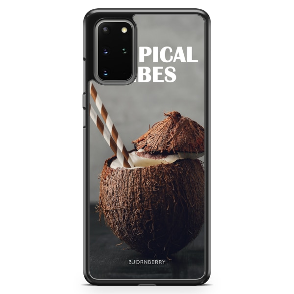 Bjornberry Skal Samsung Galaxy S20 Plus - Kokosnöt Tropical