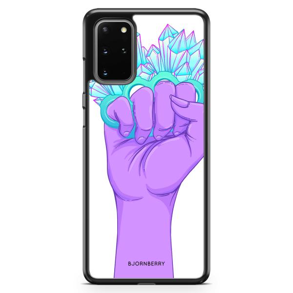 Bjornberry Skal Samsung Galaxy S20 Plus - Kristaller & Hand