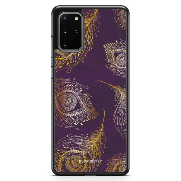 Bjornberry Skal Samsung Galaxy S20 Plus - Påfågels Fjädrar