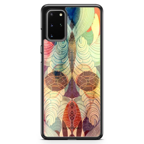 Bjornberry Skal Samsung Galaxy S20 Plus - Retro Mönster