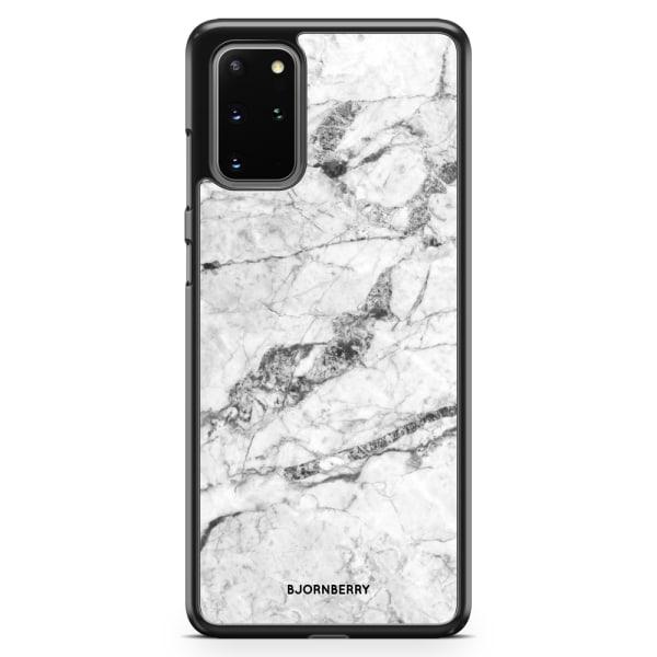 Bjornberry Skal Samsung Galaxy S20 Plus - Vit Marmor