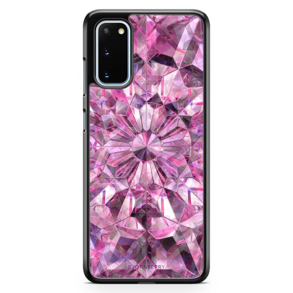 Bjornberry Skal Samsung Galaxy S20 - Rosa Kristaller