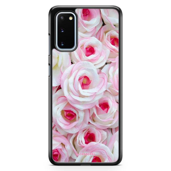 Bjornberry Skal Samsung Galaxy S20 - Rosa Rosor