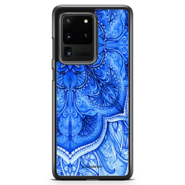 Bjornberry Skal Samsung Galaxy S20 Ultra - Blå Vintage
