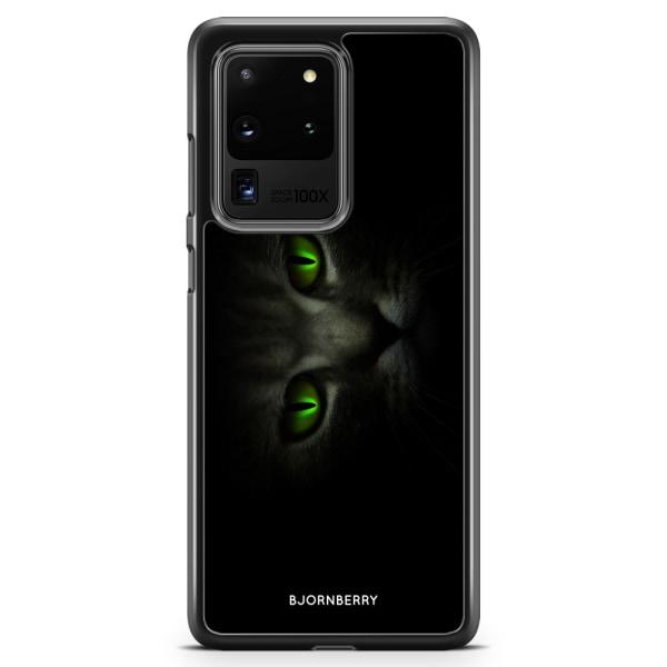 Bjornberry Skal Samsung Galaxy S20 Ultra - Gröna Kattögon