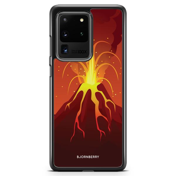 Bjornberry Skal Samsung Galaxy S20 Ultra - Teknad Vulkan