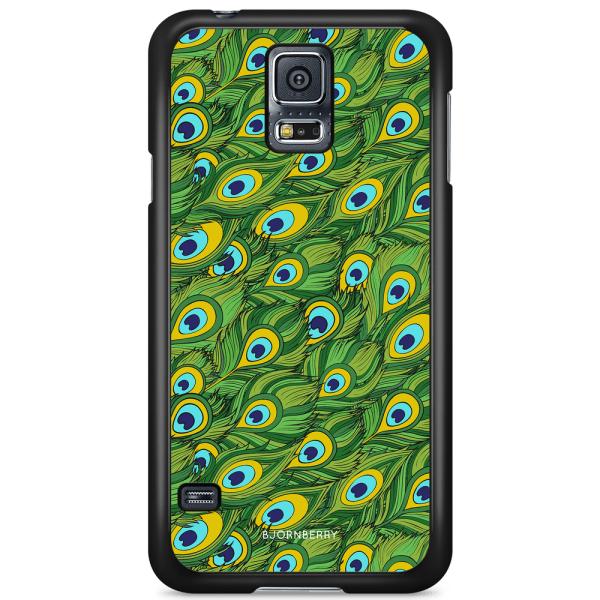Bjornberry Skal Samsung Galaxy S5 Mini - Påfågels Mönster