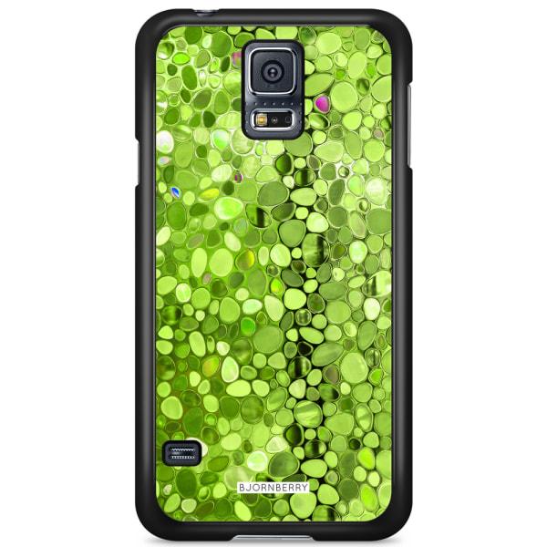 Bjornberry Skal Samsung Galaxy S5/S5 NEO - Stained Glass Grön