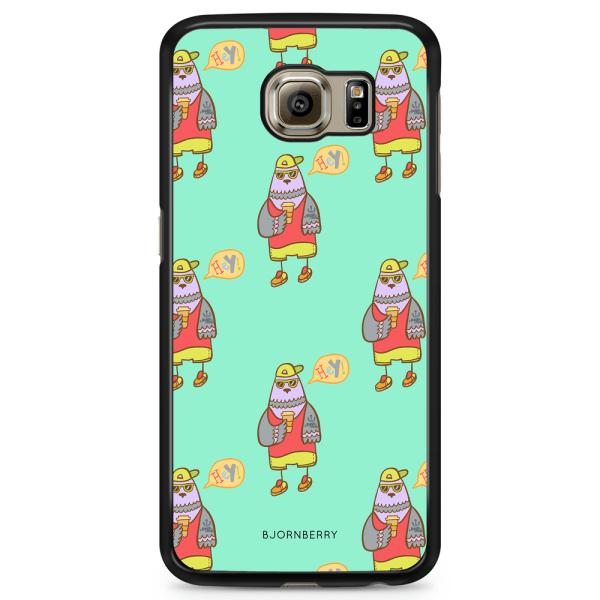 Bjornberry Skal Samsung Galaxy S6 Edge+ - Cool Fågel