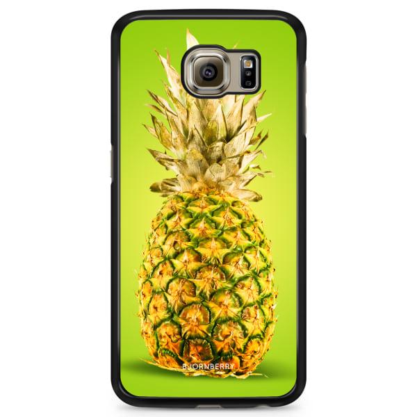 Bjornberry Skal Samsung Galaxy S6 Edge+ - Grön Ananas