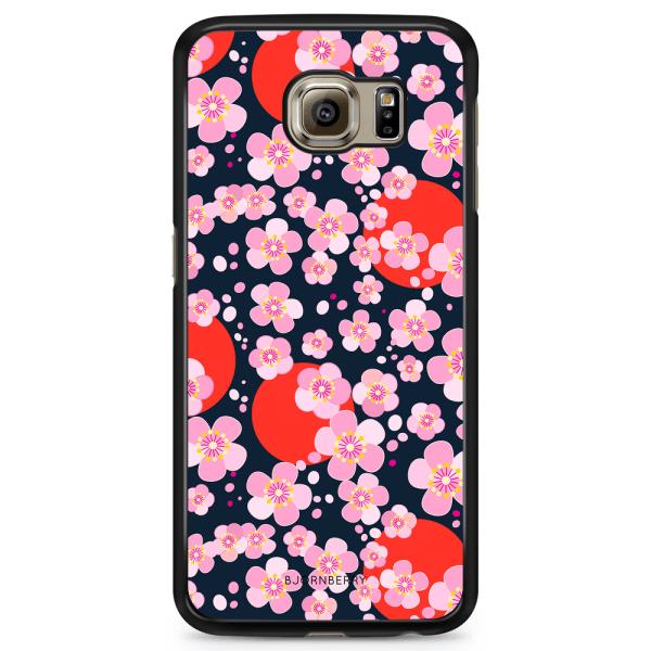 Bjornberry Skal Samsung Galaxy S6 Edge+ - Japan Blommor