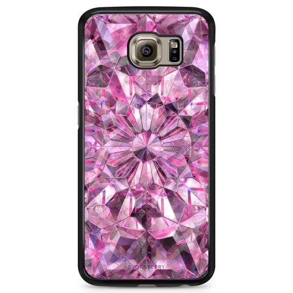 Bjornberry Skal Samsung Galaxy S6 Edge+ - Rosa Kristaller