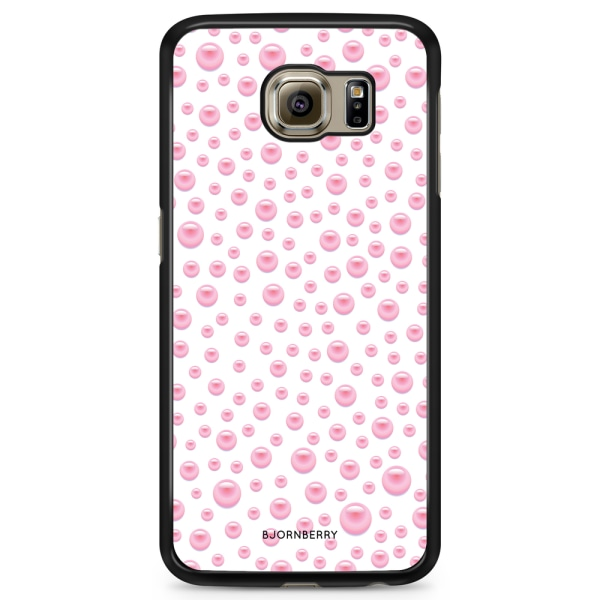 Bjornberry Skal Samsung Galaxy S6 Edge+ - Rosa Pärlor