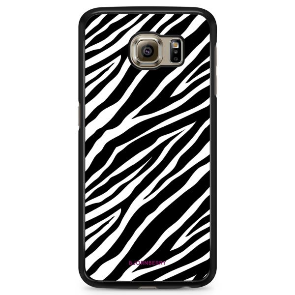 Bjornberry Skal Samsung Galaxy S6 Edge - Zebra