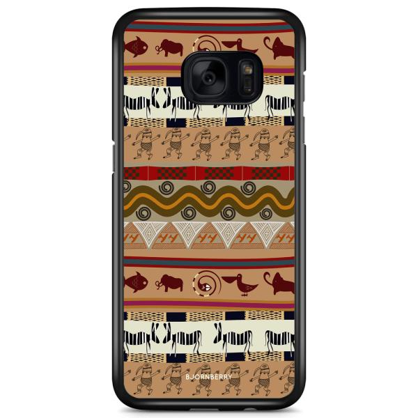 Bjornberry Skal Samsung Galaxy S7 Edge - Djur Aztek