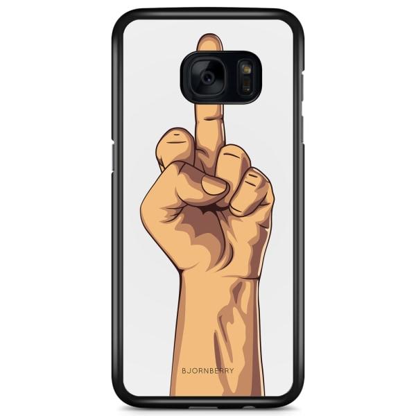 Bjornberry Skal Samsung Galaxy S7 Edge - Fuck You Finger