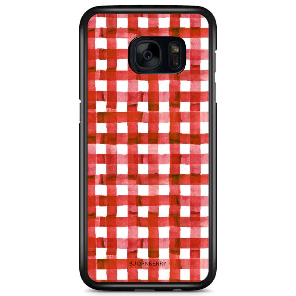 Bjornberry Skal Samsung Galaxy S7 - Röda Ränder