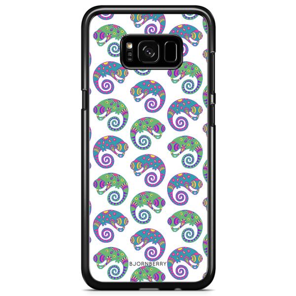 Bjornberry Skal Samsung Galaxy S8 - Ödlor