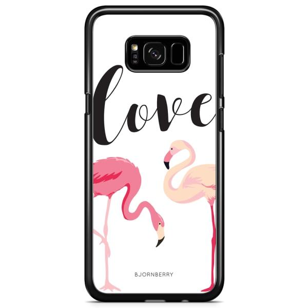 Bjornberry Skal Samsung Galaxy S8 Plus - Love Flamingo