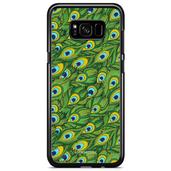 Bjornberry Skal Samsung Galaxy S8 Plus - Påfågels Mönster