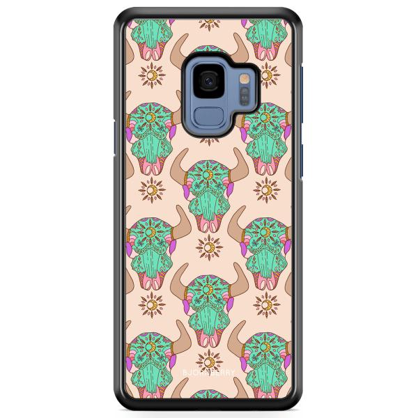 Bjornberry Skal Samsung Galaxy S9 - Beautiful Skulls