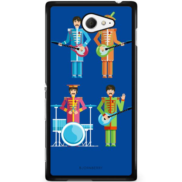 Bjornberry Skal Sony Xperia M2 Aqua - Beatles