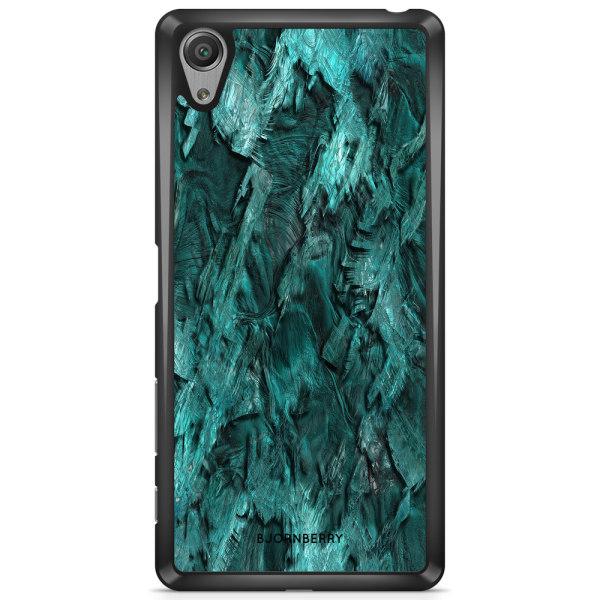 Bjornberry Skal Sony Xperia XA1 - Grön Kristall